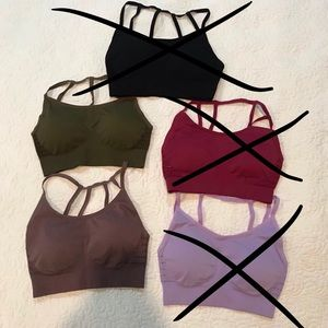 Other - Bundle of Seamless Sports Bras